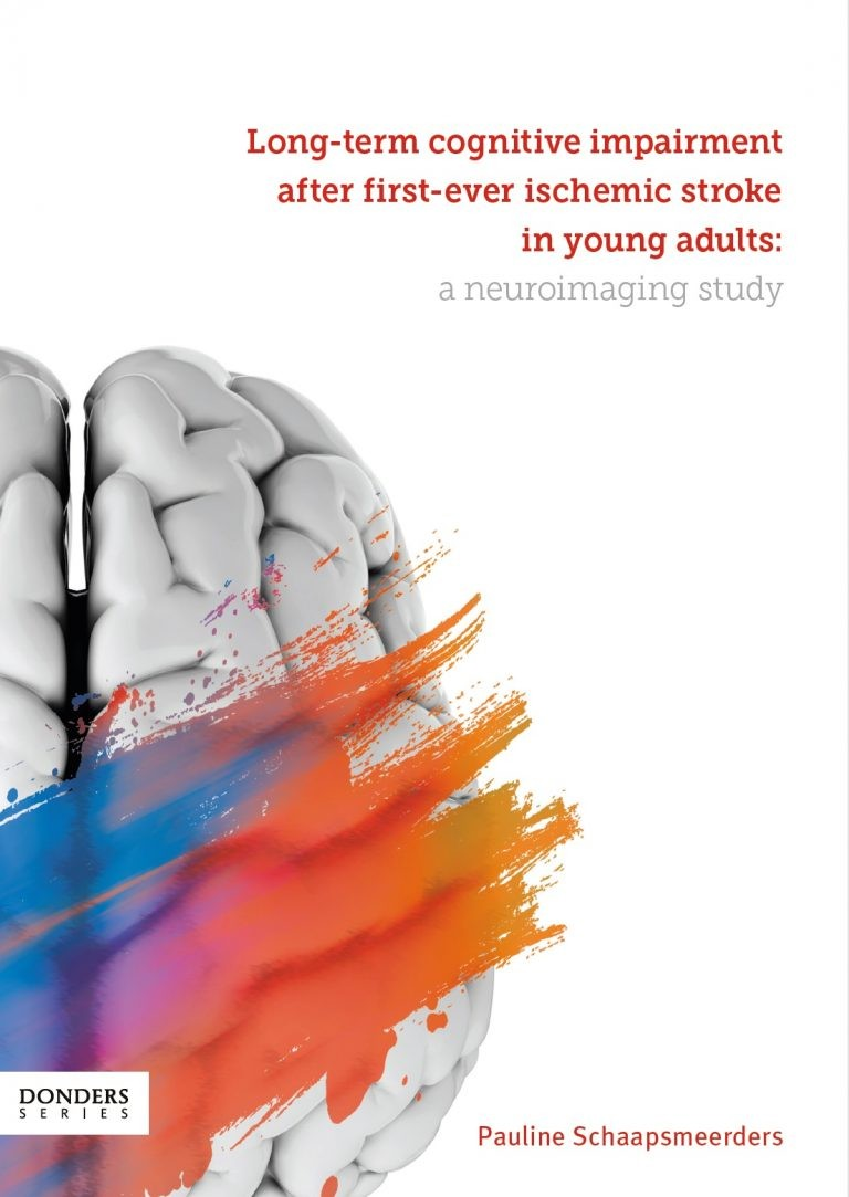 Long-term cognitive impairment after first-ever ischemic stroke in young adults. A neuroimaging study door Schaapsmeerders , P.