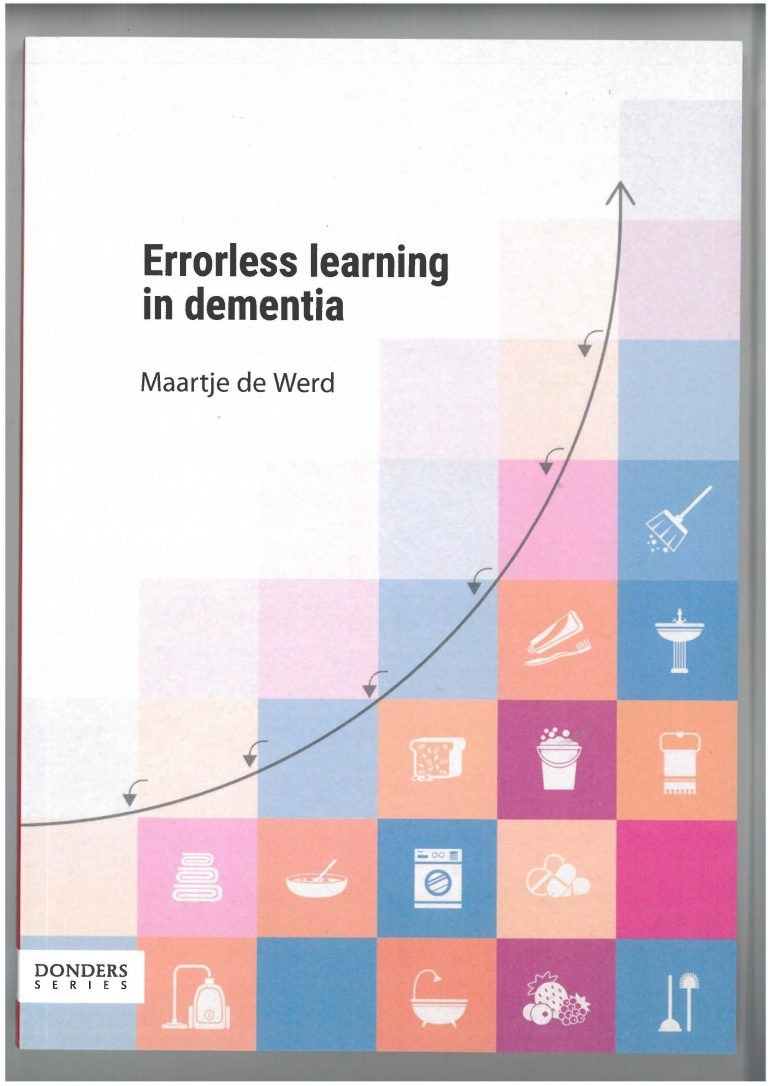 Errorless learning in dementia door Werd, de M.
